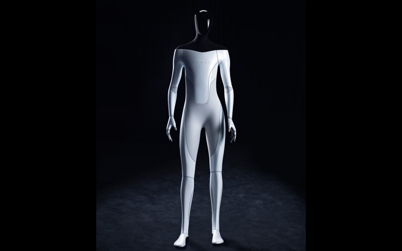 Tesla Bot. テスラと言ってもロボットのほうね。